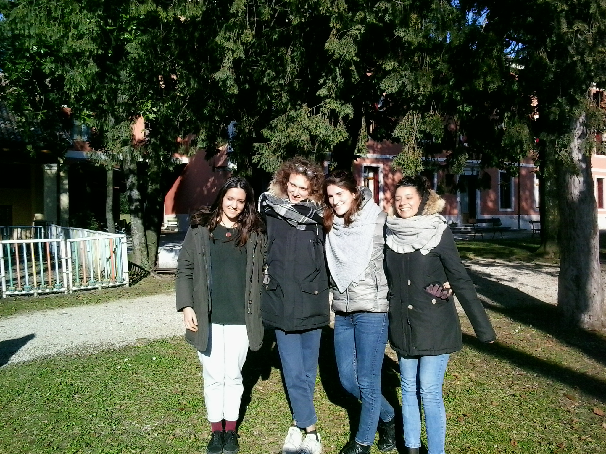 I fantastici 4: Maria, Samuele, Ilaria e Sonia